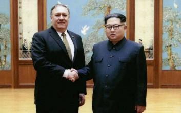 Νέα επίσκεψη Πομπέο στη Βόρεια Κορέα