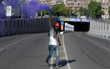 Ξανά στους δρόμους οι διαδηλωτές στην Αρμενία