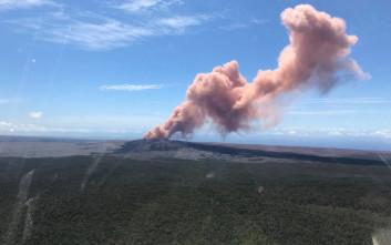Συναγερμός και απομάκρυνση κατοίκων στη Χαβάη λόγω έκρηξης ηφαιστείου