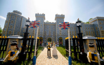 Ο βασιλικός γάμος του Χάρι και της Μέγκαν με Lego