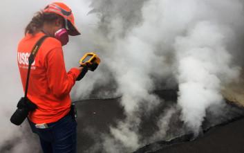 Φόβοι για ντόμινο εκρήξεων στο ηφαίστειο Κιλαουέα της Χαβάης