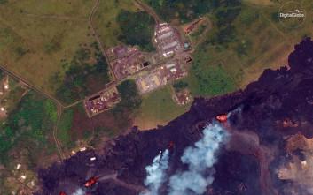 Νέα ρωγμή στο έδαφος του Μεγάλου Νησιού της Χαβάης λόγω του Κιλαουέα