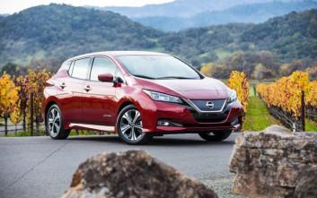 To Nissan LEAF οδηγεί την παγκόσμια «κούρσα» πωλήσεων στην κατηγορία EV