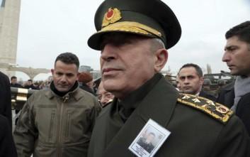 Νέα πρόκληση κατά της Ελλάδας από τον υπουργό Άμυνας και πρώην Αρχηγό ΓΕΕΘΑ της Τουρκίας