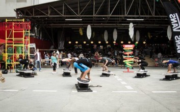 Surf Art Festival για τρεις ημέρες στο Ολυμπιακό Συγκρότημα Φαλήρου