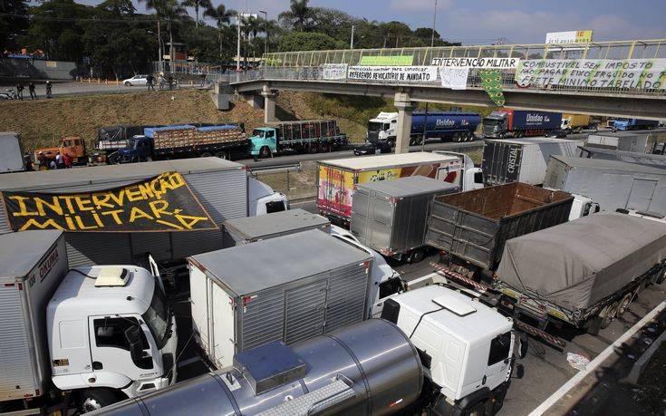 Μείωση της τιμής του ντίζελ ανακοίνωσε ο πρόεδρος της Βραζιλίας