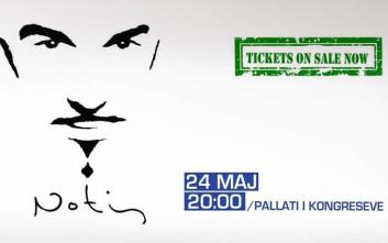 Ο Νότης Σφακιανάκης δίνει συναυλία στα Τίρανα τον Μάιο