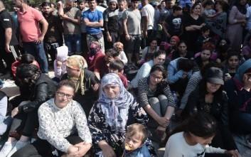 Την Εγνατία Οδό έκλεισαν οι διαμαρτυρόμενοι πρόσφυγες