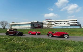 Η Αlfa Romeo επίτιμη καλεσμένη και χορηγός του θρυλικού αγώνα Mille Miglia