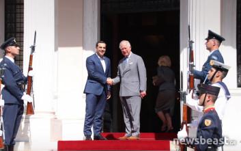Τσίπρας: Ορόσημο η επίσκεψη Καρόλου για τις σχέσεις Ελλάδας-Βρετανίας
