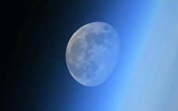 Το εντυπωσιακό φαινόμενο της Σελήνης που χάνεται