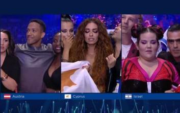 Η ανακοίνωση του τελικού αποτελέσματος στη Eurovision