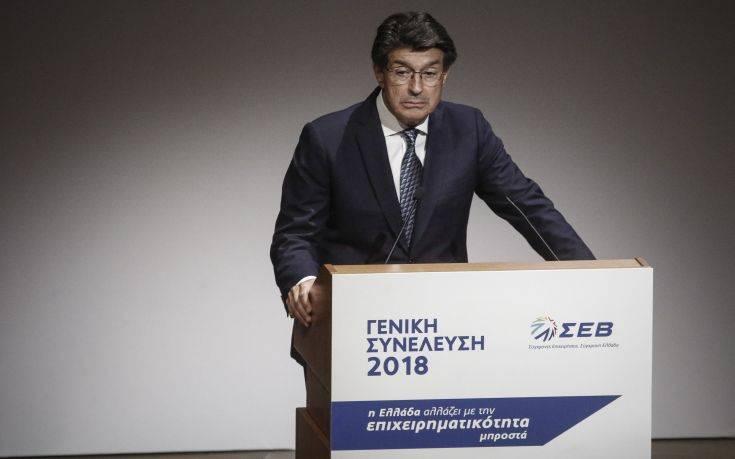 ΣΕΒ: Χρειαζόμαστε μια φιλόδοξη στρατηγική για τη βιομηχανία