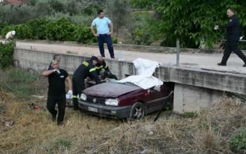 Αυτοκίνητο σφήνωσε κάτω από γεφυράκι κοντά στο Ναύπλιο, νεκρός ο οδηγός
