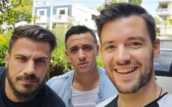 Η «συνάντηση κορυφής» των τριών νικητών του MasterChef