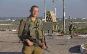 Ρουκέτες από τη Γάζα κατέρριψε η ισραηλινή αεράμυνα