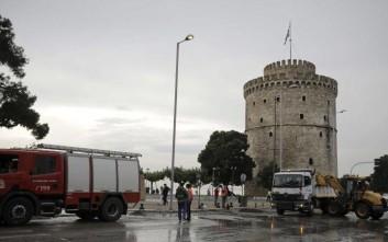 Ανοίγει το Σάββατο ο Λευκός Πύργος μετά τη σφοδρή νεροποντή