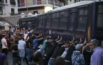 Δικάζονται σήμερα οι συλληφθέντες για τα επεισόδια στη Μυτιλήνη