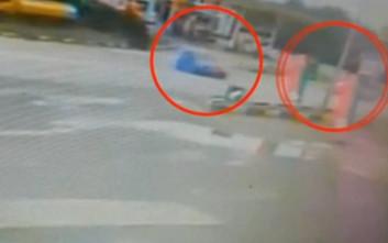 Σοκαριστική σύγκρουση στην Καρδίτσας-Λαμίας με σοβαρό τραυματισμό