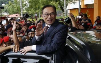 Βασιλική χάρη και αποφυλάκιση για 70χρονο πολιτικό στη Μαλαισία