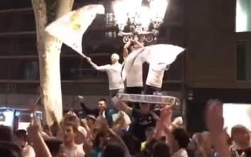 Οπαδοί της Ρεάλ στη Βαρκελώνη τρολάρουν τον Μέσι