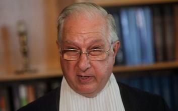 Απειλητική επιστολή στον τέως πρόεδρο του Συμβουλίου της Επικρατείας Νίκο Σακελλαρίου