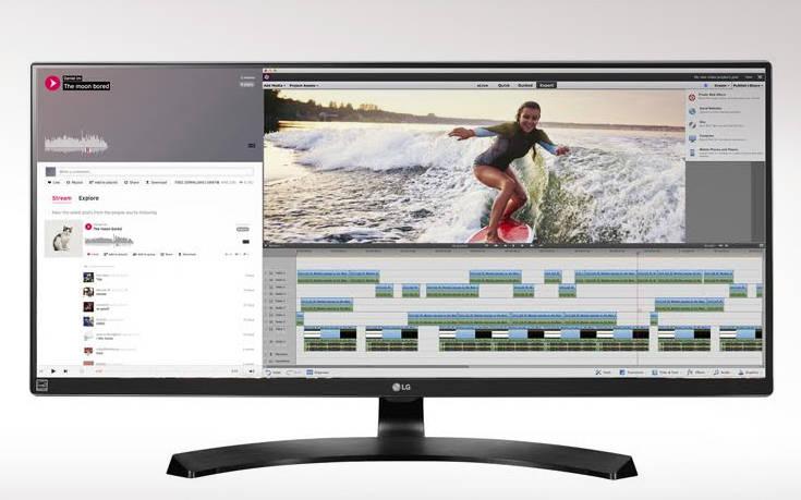 Το νέο LG 21:9 UltraWide B2B monitor 34'' συνδυάζει άψογα εργασία και ψυχαγωγία