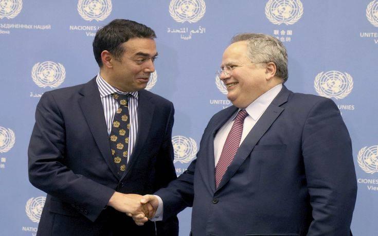 Κοτζιάς για Σκοπιανό: Εμείς τελειώσαμε, ο λόγος στους πρωθυπουργούς για την τελική συμφωνία