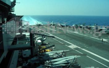 Στο λιμάνι της Σούδας το αμερικανικό αεροπλανοφόρο «Χάρι Τρούμαν»