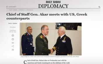 Το αίτημα του Αρχηγού ΓΕΕΘΑ σε τούρκο αντιστράτηγο για το Αιγαίο