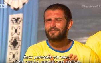 Ο Ρουμάνος του Survivor 2 που έκανε τη Ροδάνθη να κοκκινίσει