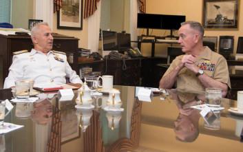 Τι συζήτησε στο Πεντάγωνο ο Αρχηγός των Ενόπλων Δυνάμεων