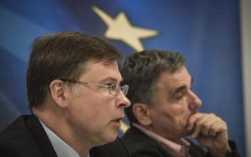 Ντομπρόβσκις: Δεν θα υπάρξουν νέοι όροι για την Ελλάδα μετά το μνημόνιο