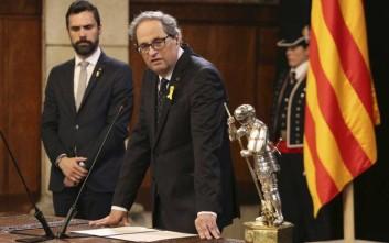 Ο νέος Καταλανός ηγέτης ζητά διαβουλεύσεις με τον καινούριο πρωθυπουργό Σάντσεθ