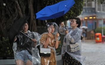Νεκροί από τις έντονες βροχοπτώσεις στην Κίνα