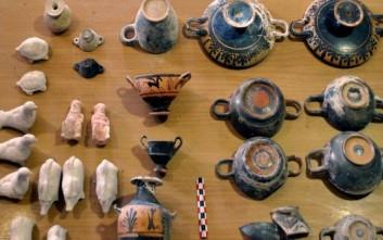 «Τα αρχαία που βρέθηκαν μετά την πυρκαγιά είναι 400 ακέραια αντικείμενα»
