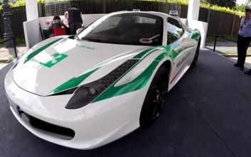 Η «μαφιόζικη» Ferrari που πλέον ανήκει στην αστυνομία