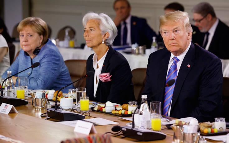 Αποχωρεί εσπευσμένα από τη σύνοδο της G7 o Τραμπ