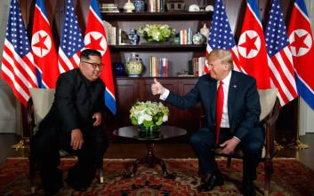 Ο Κιμ Γιονγκ Ουν αποδέχθηκε πρόταση του Τραμπ να επισκεφθεί τις ΗΠΑ