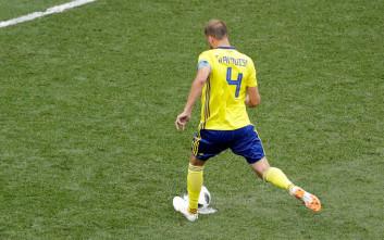 Ένα πέναλτι ήταν αρκετό για τη Σουηδία