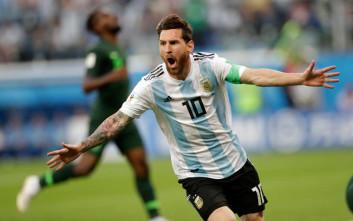 O Mέσι έκανε ό,τι ήθελε στα αποδυτήρια της Αργεντινής