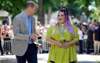 Η βόλτα του πρίγκιπα Ουίλιαμ με τη νικήτρια της Eurovision