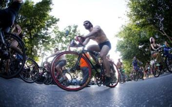 Γυμνή ποδηλατοδρομία σήμερα στη Θεσσαλονίκη