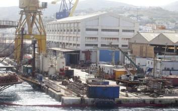 Κοντά στην πώληση στον όμιλο ONEX Shipyards τα ναυπηγεία Νεωρίου Σύρου