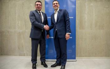 Die Zeit: Έξυπνο και διορατικό το deal Tσίπρα - Ζάεφ