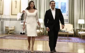 Η εμφάνιση της Μπαζιάνα στο Προεδρικό Μέγαρο