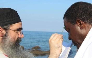 Αφρικανός βασιλιάς βαπτίστηκε Χριστιανός Ορθόδοξος στο Άγιον Όρος