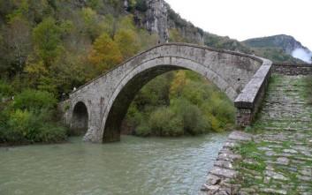 Χρυσοθήρες «ξήλωσαν» το δίτοξο γεφύρι του Μίσιου για να βρουν θησαυρό