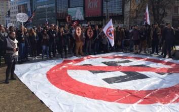 Χιλιάδες Σλοβάκοι στους δρόμους της Μπρατισλάβας κατά των νεοναζί