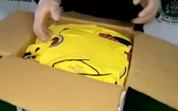 Φανέλες της εθνικής Κολομβίας ήταν «φορτωμένες» κοκαΐνη